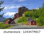 old kennecott copper mine.... | Shutterstock . vector #1243479817