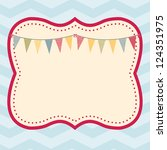 celebration frame  this fun and ... | Shutterstock .eps vector #124351975