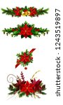 christmas elements for your... | Shutterstock .eps vector #1243519897
