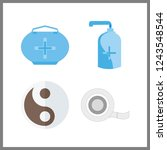 4 therapy icon. vector...   Shutterstock .eps vector #1243548544