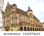 rothenburg ob der tauber ... | Shutterstock . vector #1243576621