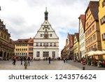 rothenburg ob der tauber ... | Shutterstock . vector #1243576624
