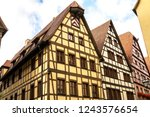 rothenburg ob der tauber ... | Shutterstock . vector #1243576654