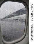 rain drop porthole   Shutterstock . vector #1243577497