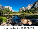 yosemite national park ... | Shutterstock . vector #124360591