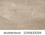 vintage brown abstract hessian... | Shutterstock . vector #1243633204
