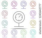 pressure indicator icon.... | Shutterstock . vector #1243642777