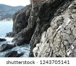 rock formations along the...   Shutterstock . vector #1243705141