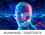 face detection and recognition... | Shutterstock . vector #1243721674