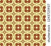 retro seamless ornamental... | Shutterstock .eps vector #1243725937
