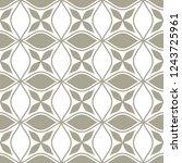 abstract seamless ornamental... | Shutterstock .eps vector #1243725961