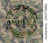 Amnesia Written On A Camo...