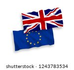 european union and united... | Shutterstock .eps vector #1243783534