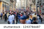 istanbul  turkey   july 28 ... | Shutterstock . vector #1243786687