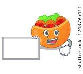 with board falafel in pita in...   Shutterstock .eps vector #1243795411