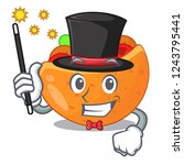 magician pita bread filled with ...   Shutterstock .eps vector #1243795441