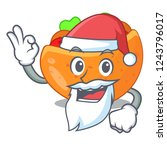 santa pita bread filled with... | Shutterstock .eps vector #1243796017
