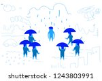 business people team with... | Shutterstock .eps vector #1243803991