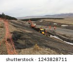 excavation and backfilling of... | Shutterstock . vector #1243828711
