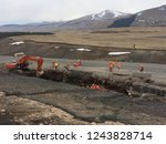 excavation and backfilling of... | Shutterstock . vector #1243828714
