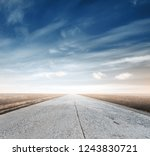 road in the autumn fields | Shutterstock . vector #1243830721