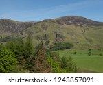hill farming of herdwick sheep... | Shutterstock . vector #1243857091