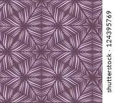 seamless geometric winter... | Shutterstock . vector #124395769