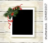 Set Of Christmas Photo Frames....