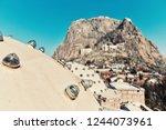 hammam roof in afyonkarahisar | Shutterstock . vector #1244073961