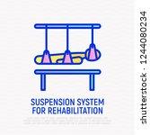 rehabilitation for disabled...   Shutterstock .eps vector #1244080234