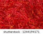 flowers of saffron after...   Shutterstock . vector #1244194171