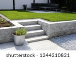 Neat And Tidy Garden With...