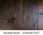 texture of brazilian rosewood ... | Shutterstock . vector #1244267527