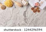 marble floor bath room object... | Shutterstock . vector #1244296594