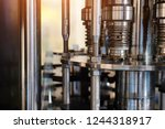 industrial machinery in the... | Shutterstock . vector #1244318917