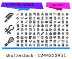 vector icons pack of 120 filled ...   Shutterstock .eps vector #1244323951