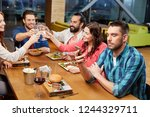 technology  lifestyle and...   Shutterstock . vector #1244329711
