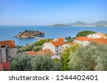 scenic view of saint stephen ... | Shutterstock . vector #1244402401