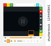 media player with video loading ...