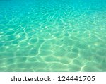 water ocean background. clear... | Shutterstock . vector #124441705