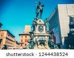 bologna  italy   october 2018 ...   Shutterstock . vector #1244438524