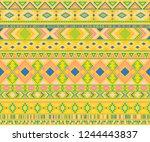 peruvian american indian...   Shutterstock .eps vector #1244443837