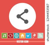 very useful vector icon of...   Shutterstock .eps vector #1244453587