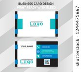 abstract business card  simple...