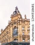 london  uk   may 31  2013 ... | Shutterstock . vector #1244518681