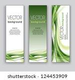 set of banners. vector... | Shutterstock .eps vector #124453909