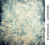 grunge rough texture   abstract ... | Shutterstock . vector #124465681