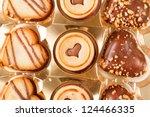 heart cookies | Shutterstock . vector #124466335