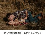love and sex concept. man and... | Shutterstock . vector #1244667937