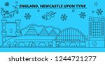 great britain  newcastle upon... | Shutterstock .eps vector #1244721277